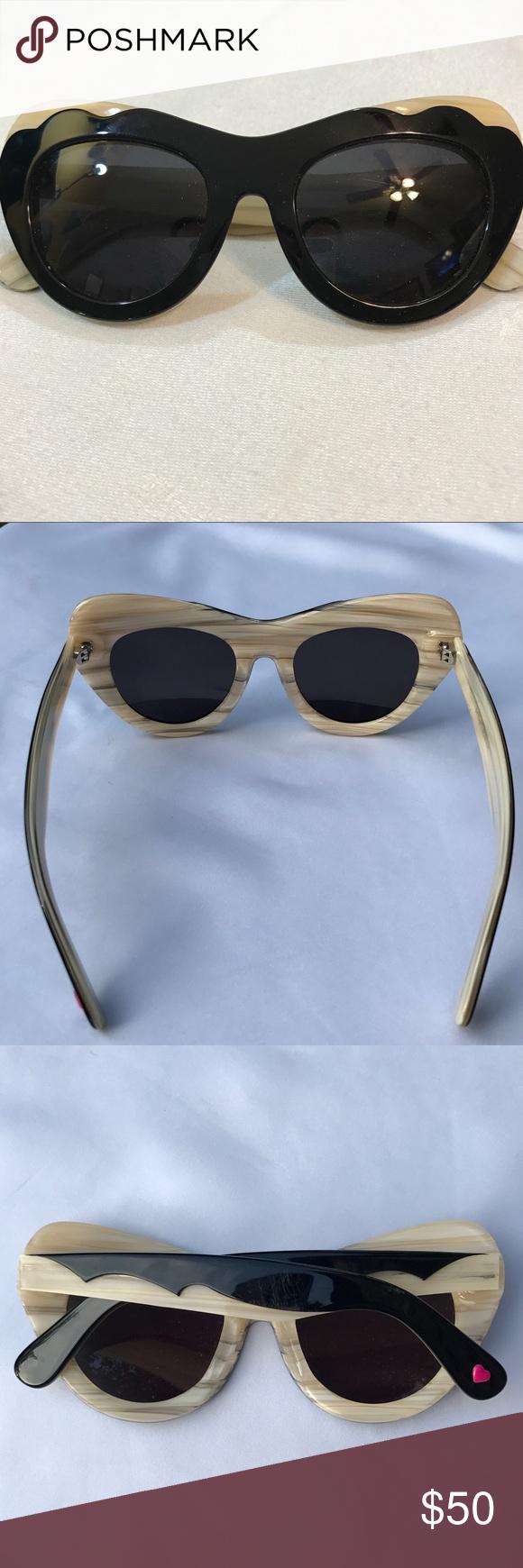Rare Betsey Johnson Cat Eye Sunglasses