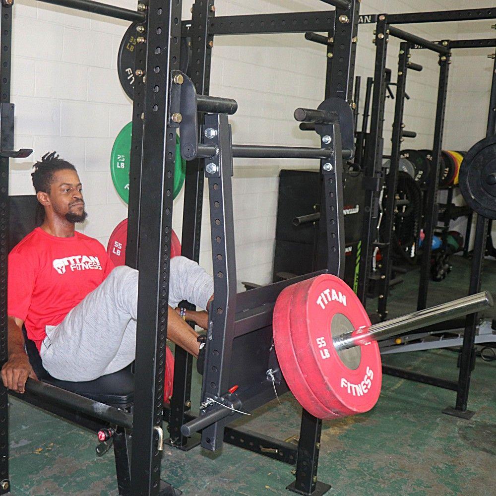 Power Rack Leg Press Attachment   At home gym, Leg press ...
