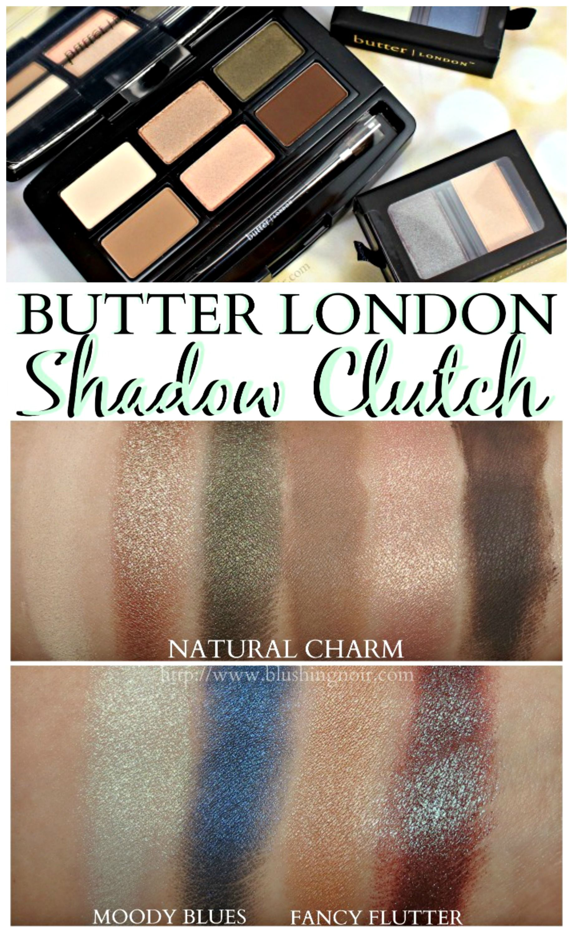 butter LONDON Shadow Clutch Palette Swatches Duochrome
