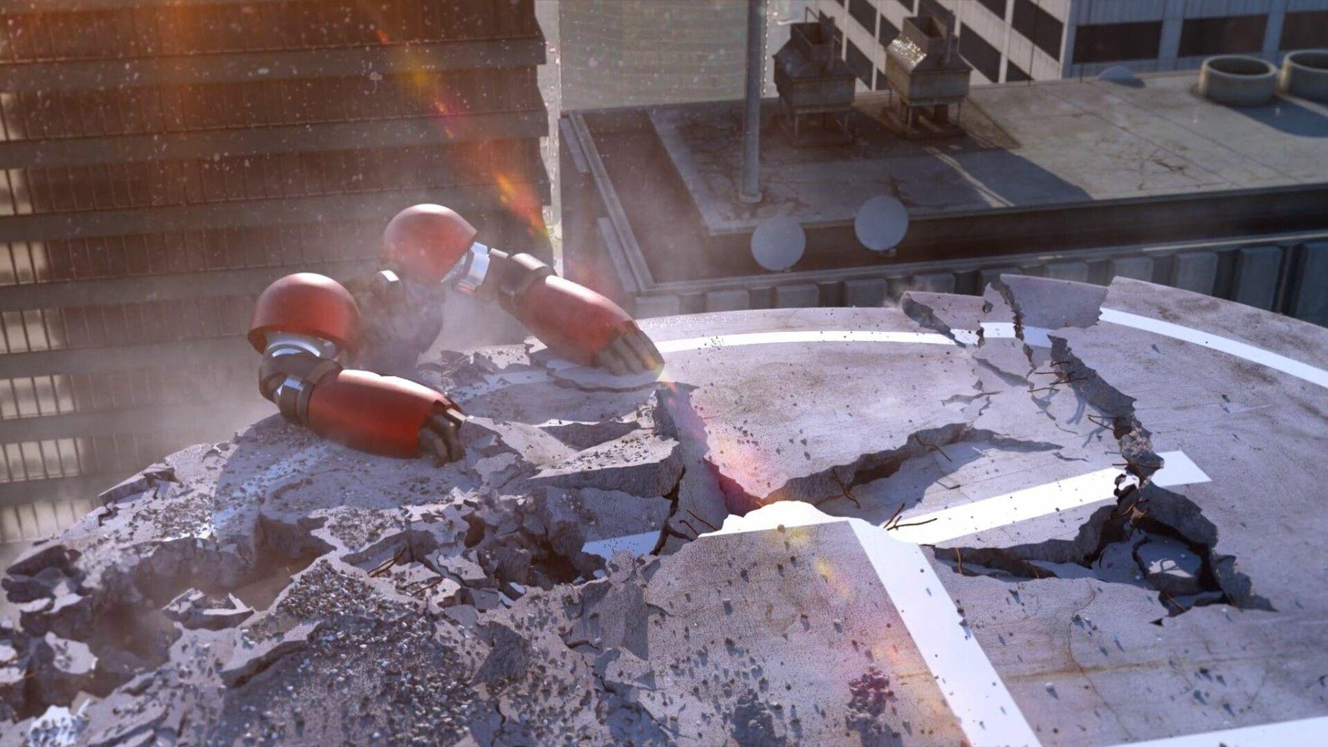 Hadrien Palanca studied destruction simulation at CGMA