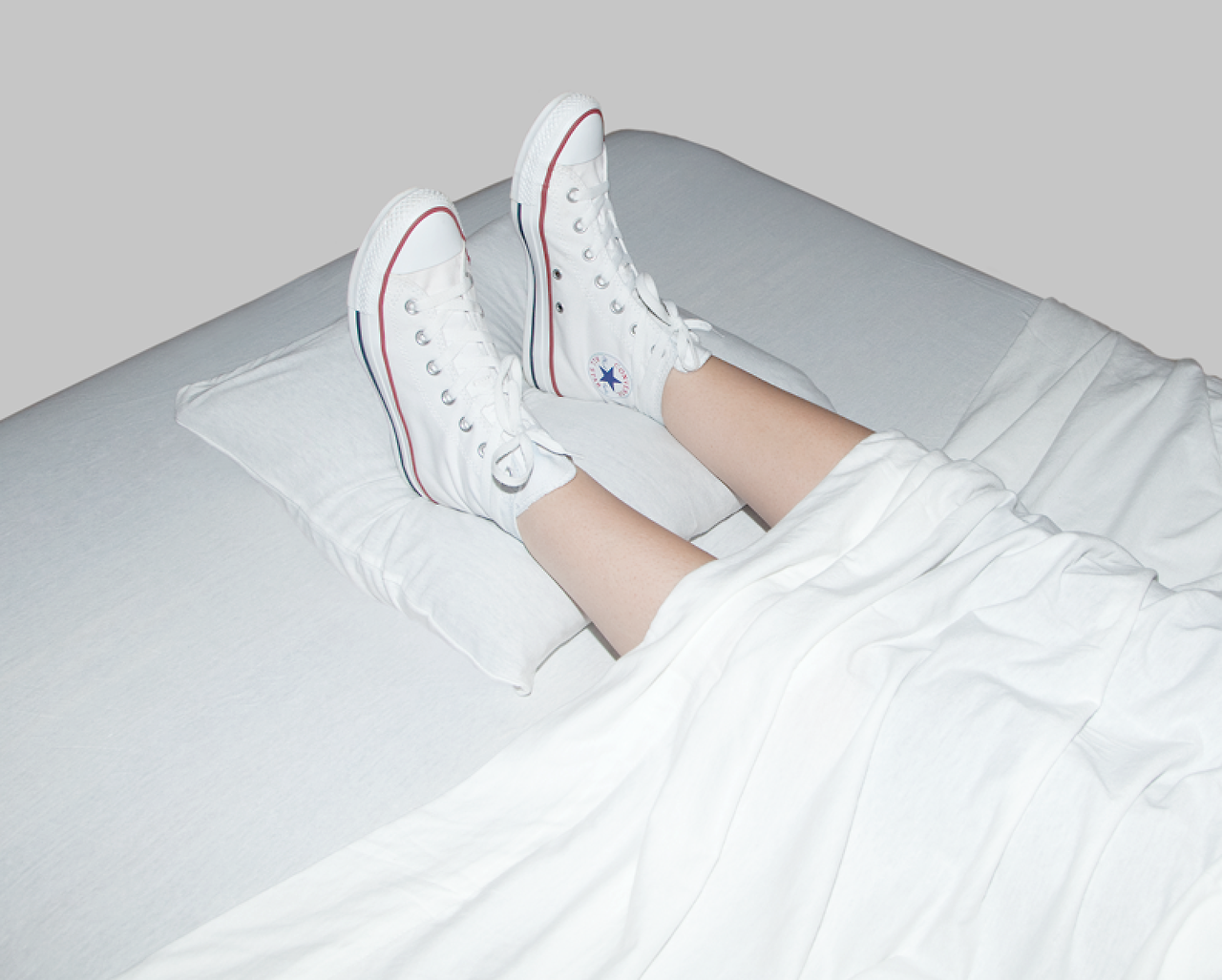 Olivia Locher, I Fought the Law (2014) In North Dakota it's illegal to have shoes on in bed.