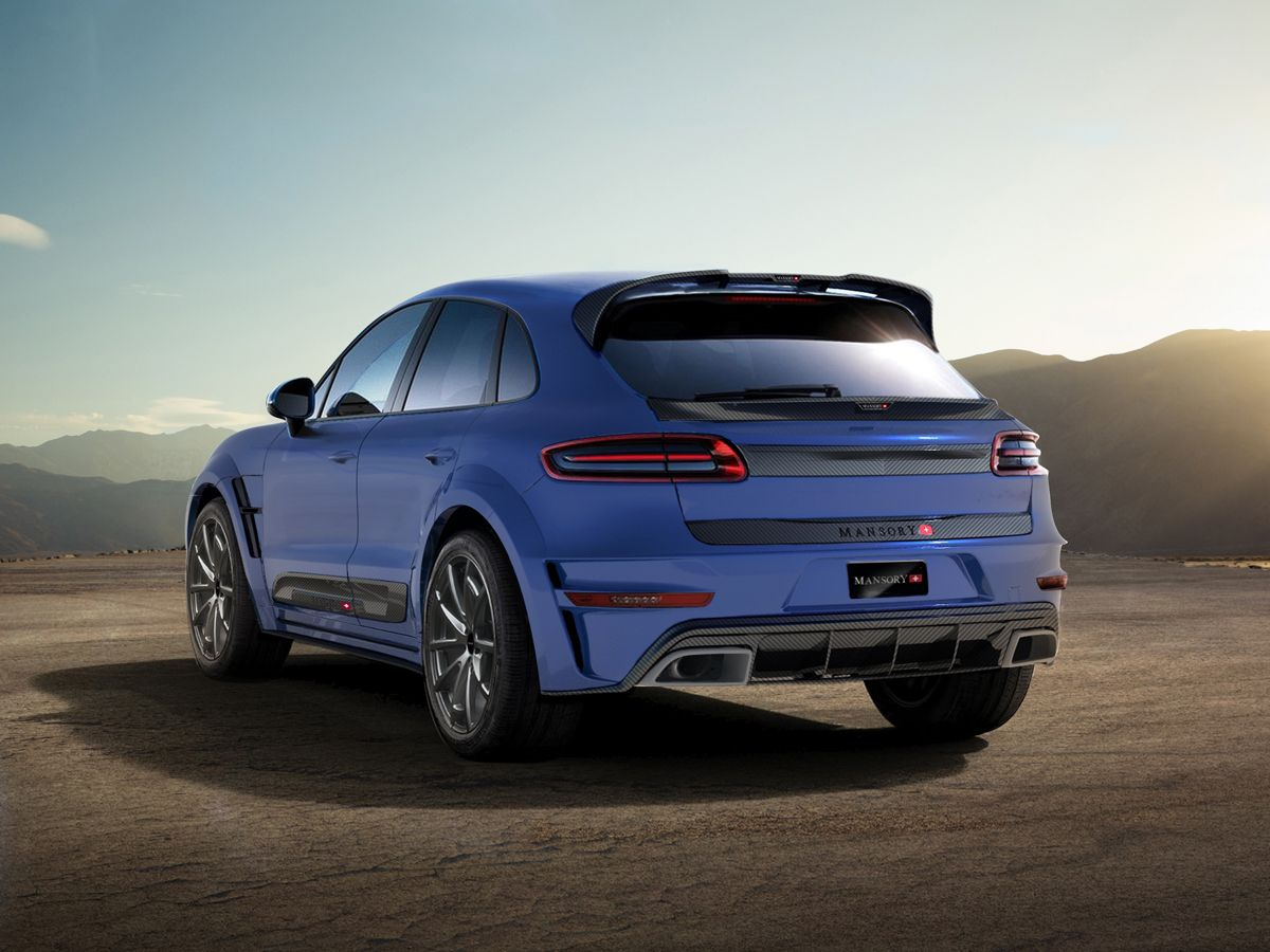The mansory porsche macan is all about exclusivity