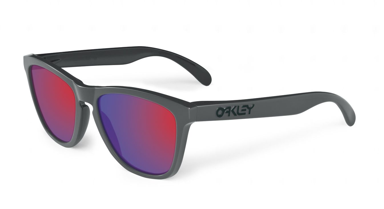 Oakley Frogskin Aquatique Collection: AbyssPositive Red