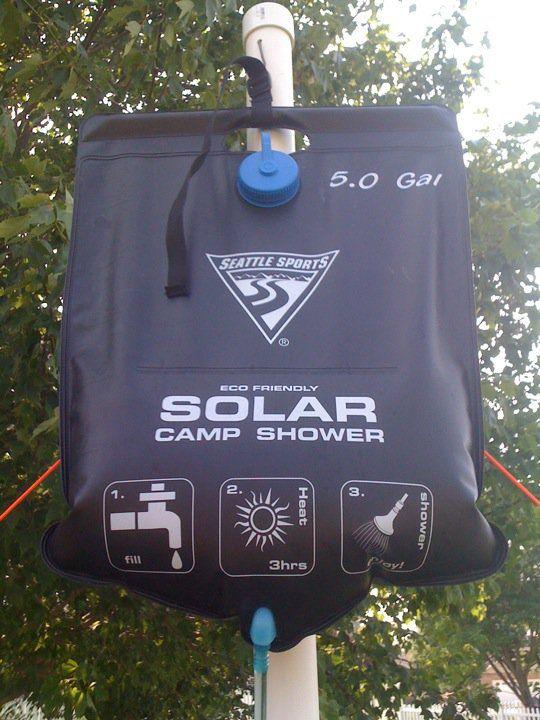 Solar Shower Stand