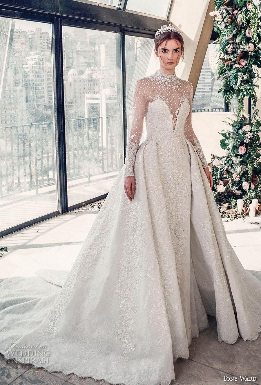 "25c3c7109a Tony Ward La Mariée Spring 2019 Wedding Dresses — ""Roman Romance ..."