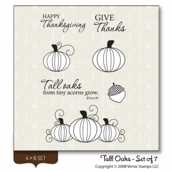 Verve Stamps: Tall Oaks