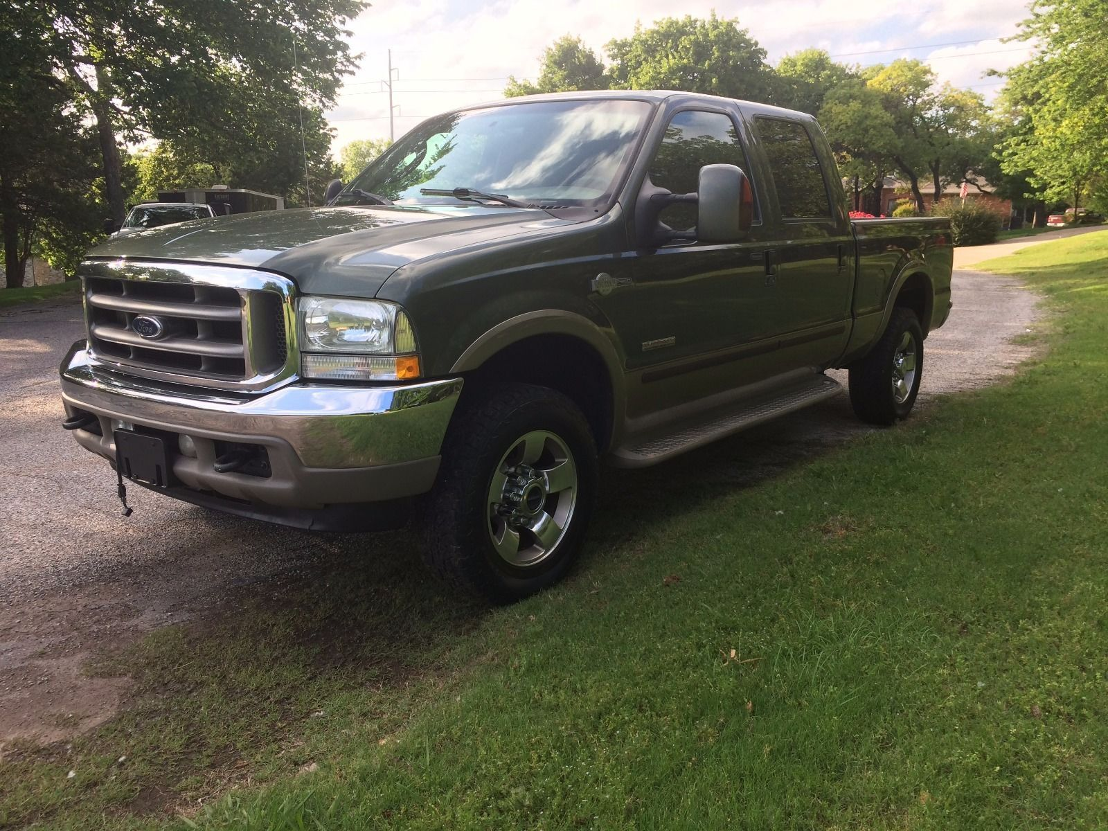 2004 ford f 250 super duty crew cab king ranch 6 0 diesel