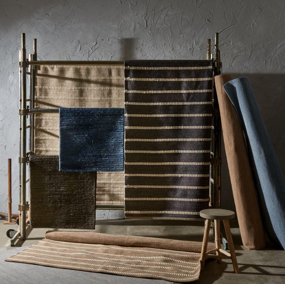 Las alfombras fabricadas con fibras vegetales como el ...