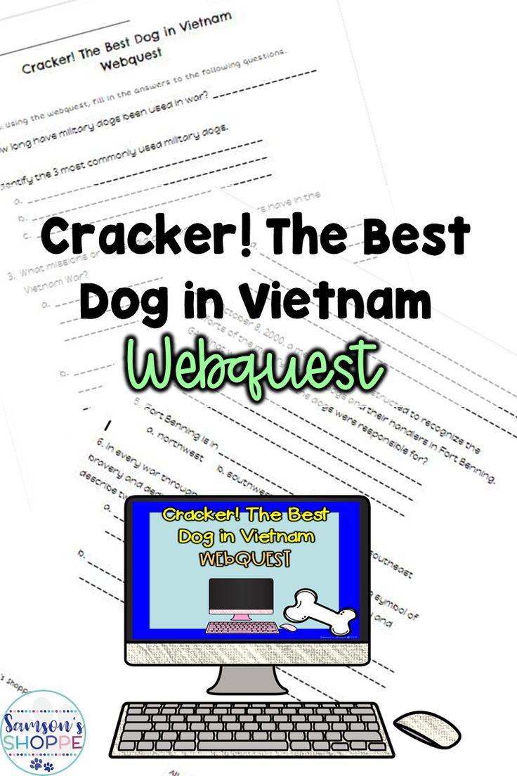 Cracker! The Best Dog in Vietnam Webquest Activity