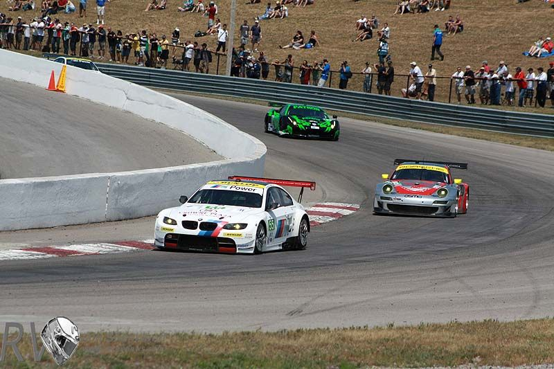 The cars on track for ALMS at The Canadian Tires