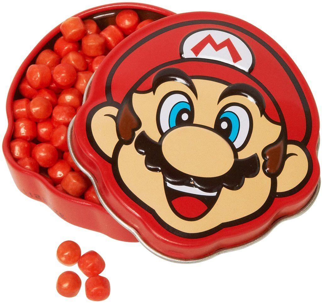 mario brick breakin' candy tin Case of 4