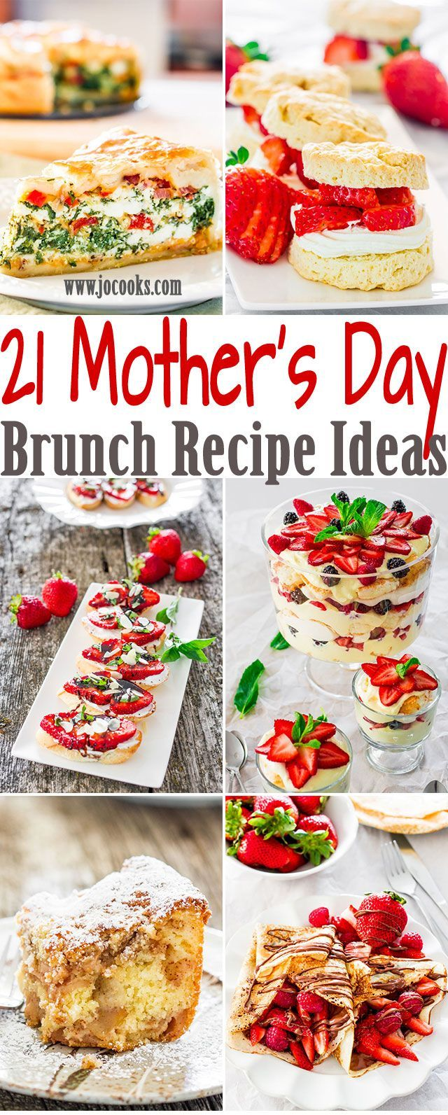 21 mother's day brunch recipe ideas your mom would love - a