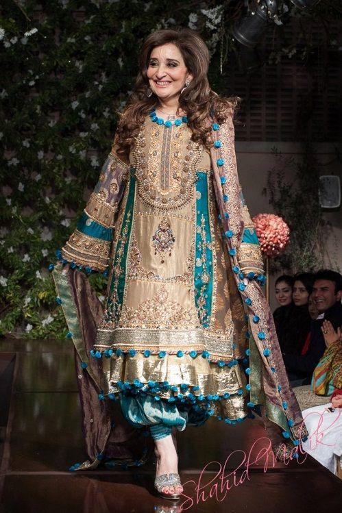 37c5726f8fc Pakistani Designer Saadia Mirza s -The Nur ul Aine Bridal Wear Collection  2013