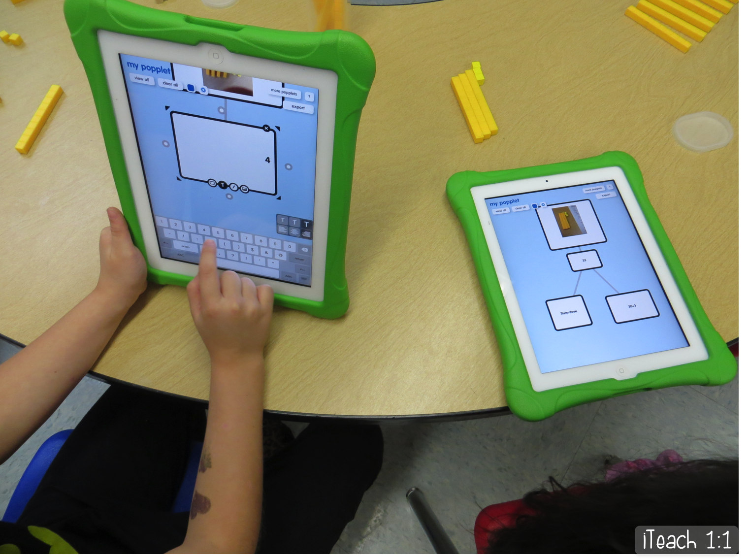 We recently wrapped up our place value  unit and I finally have time to blog about some of my favorite FREE apps and activities we used...