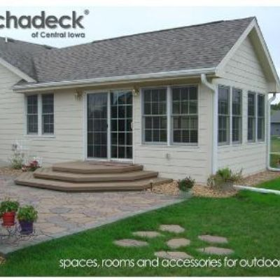 This 3-season room north of Des Moines near Ankeny added ... on Outdoor Living Space Builders Near Me  id=40056