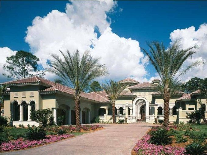 Mediterranean Style House Plan 4 Beds 5 5 Baths 6524 Sq Ft Plan 930 325 Mediterranean Style House Plans Mediterranean Homes Luxury House Plans