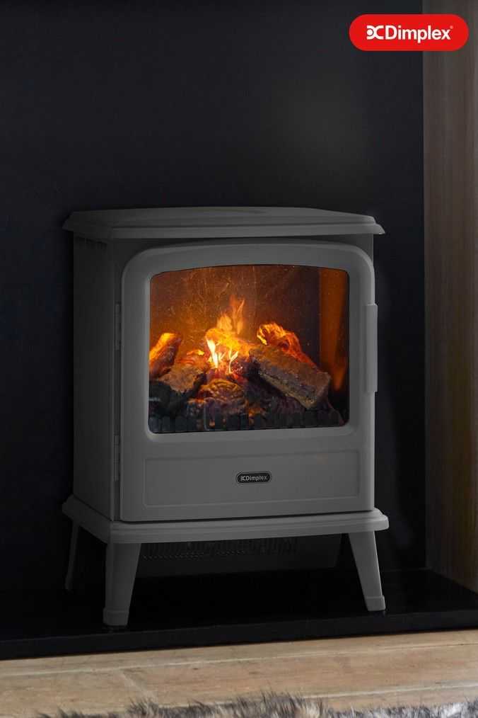 Evandale Opti Myst Electric Stove By Dimplex Grey Dimplex Electric Stove Solid Pine Furniture