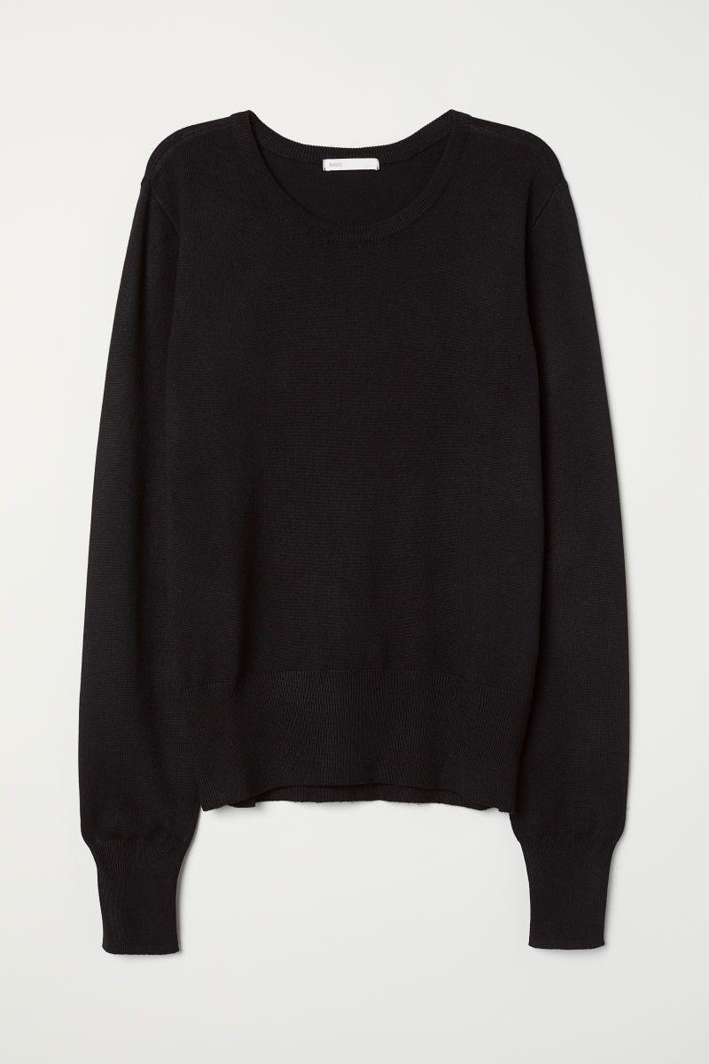a495d845c Fine-knit jumper