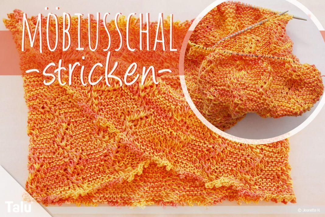 Photo of Möbius-Schal stricken – frei strickender Schlaufenschal – Talu.de