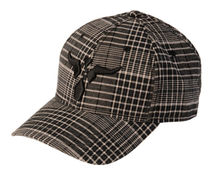 Wrangler Steer Head Embroidered Plaid Cap available at  Sheplers ... 0a6f3a8d8a08