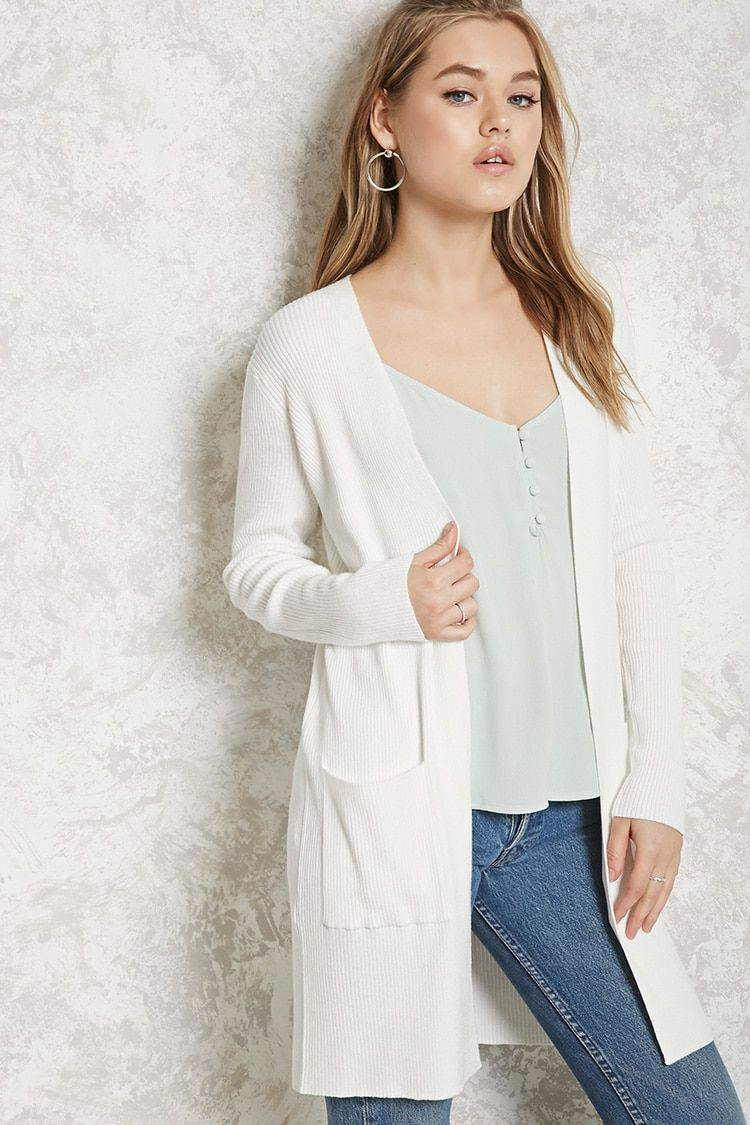 Product Name:Longline Ribbed Cardigan, Category:sweater, Price ...