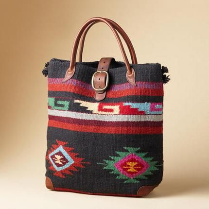 2b0c5409a The Legends woven wool bag from Sundance Catalog | Western Boots ...