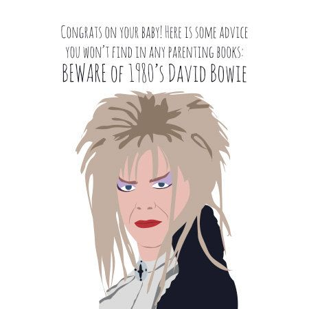 Baby card david bowie labyrinth beware of by meetmeinshermer nerdy baby card david bowie labyrinth beware of by meetmeinshermer bookmarktalkfo Image collections