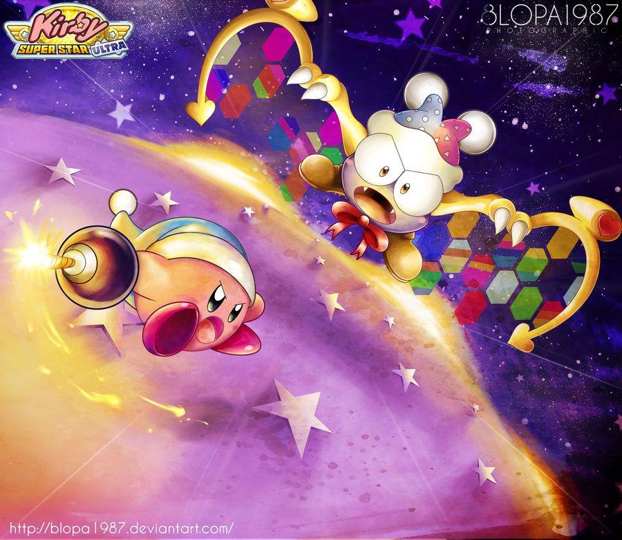 Kirby Vs Marx By Blopa1987 On Deviantart Kirby Kirby Character Kirby Art
