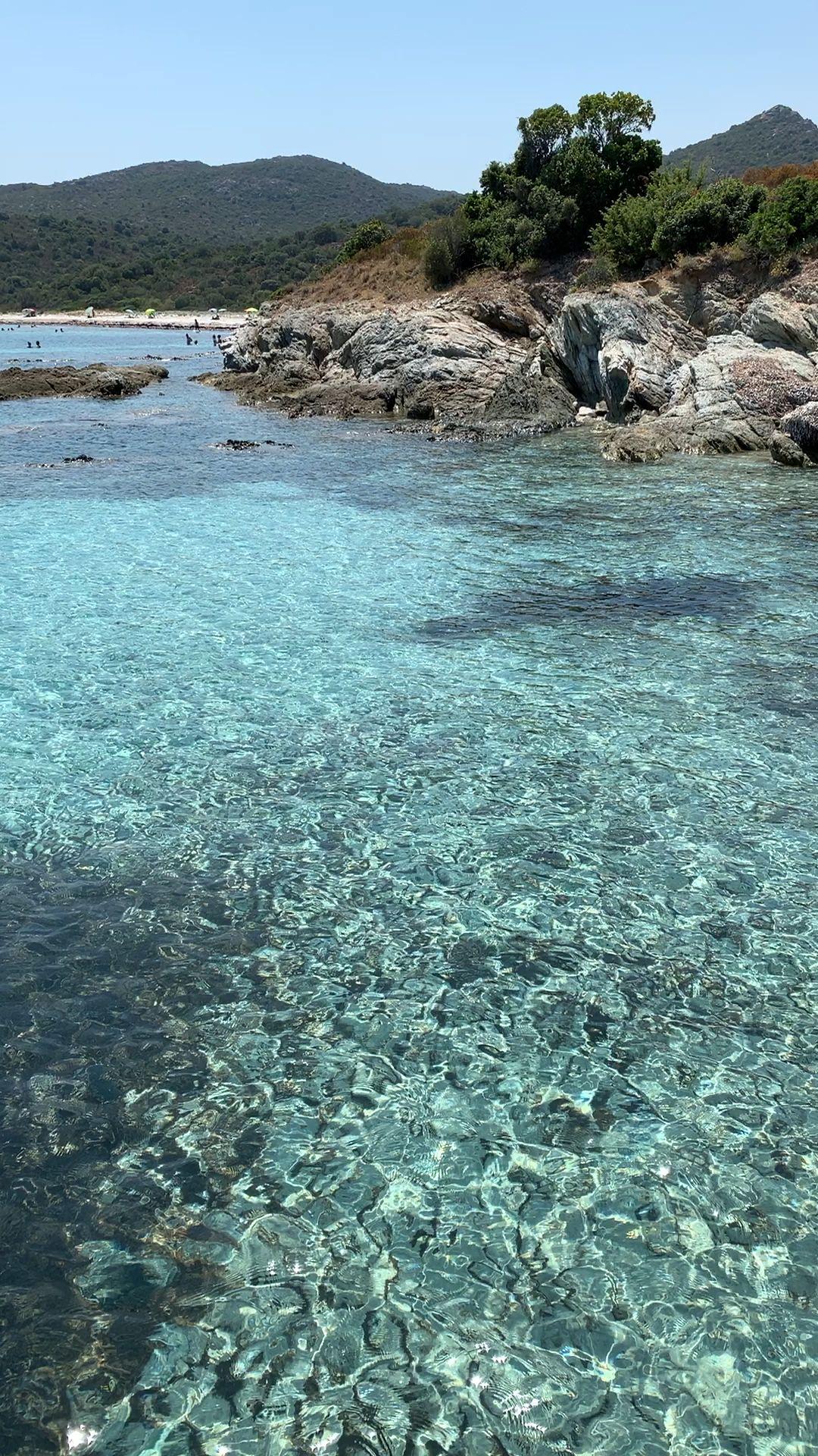 Plage du Lotu, désert des Agriates, Saint-Florent, Corse