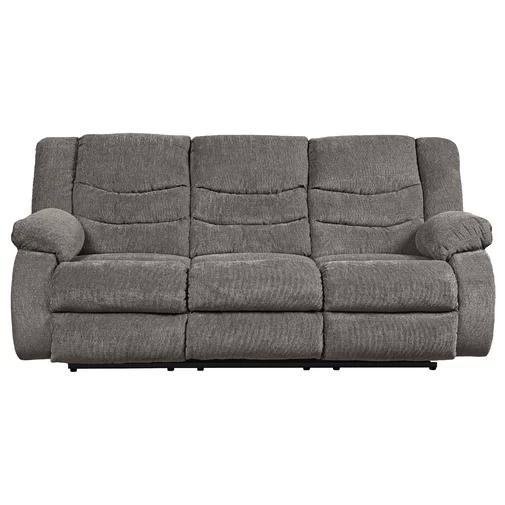 Drennan Chenille Reclining 87 Pillow Top Arm Sofa Reclining Sofa Grey Reclining Sofa Recliner