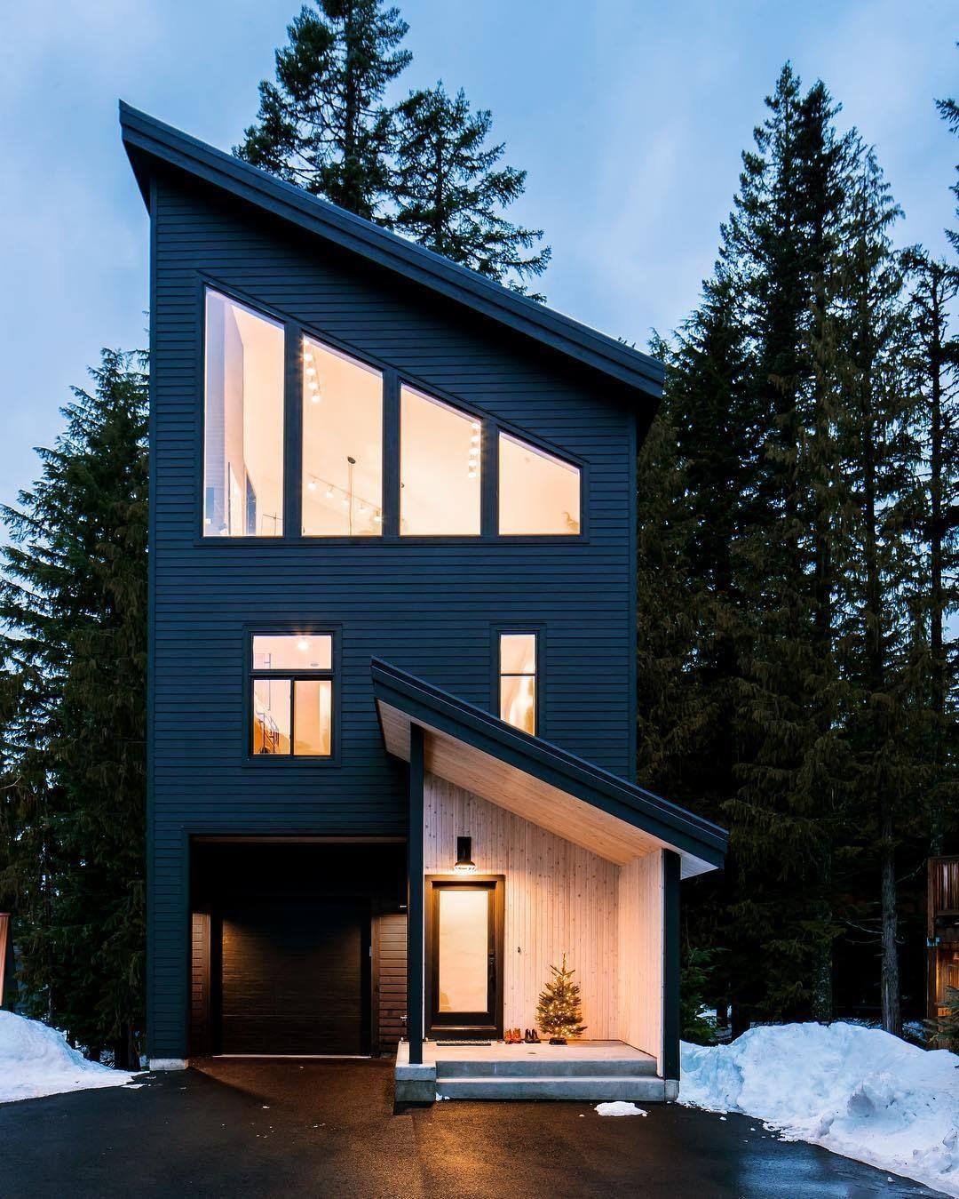 Living A Modern Ski Chalet Chalet Design Ski Cabin Architecture