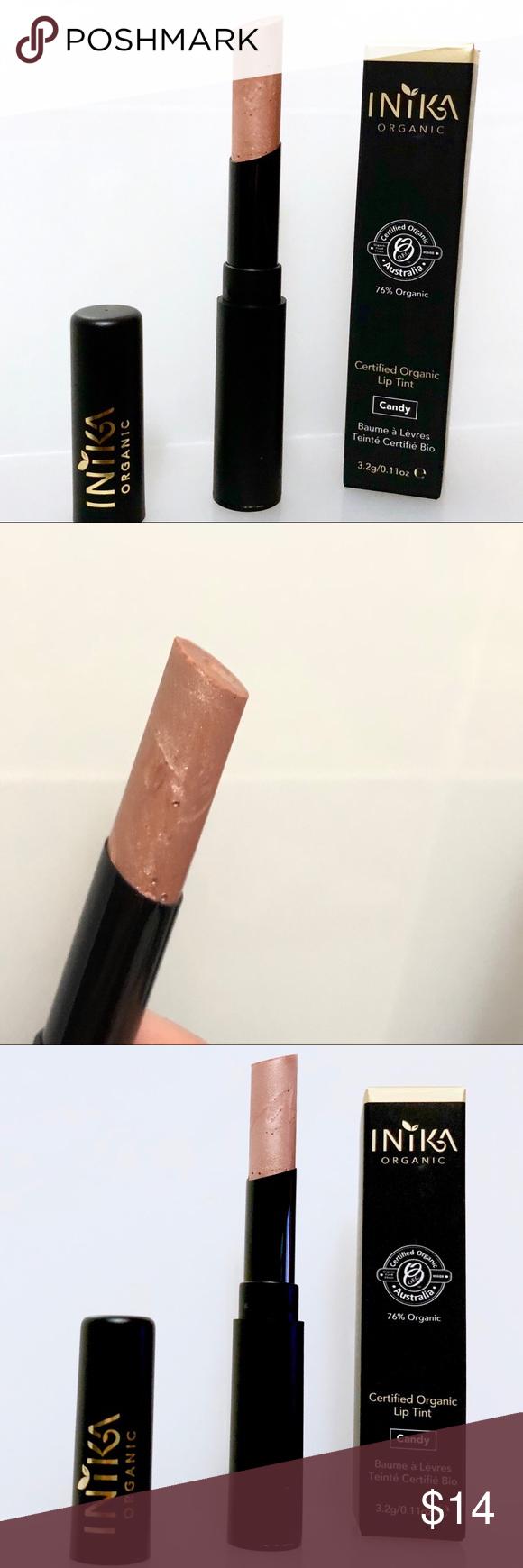 3/25 INIKA Certified Organic Lip Tint Lipstick Boutique