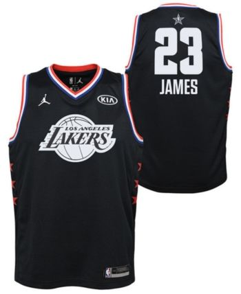 newest 71d00 76585 Outerstuff Big Boys Lebron James Los Angeles Lakers All Star ...