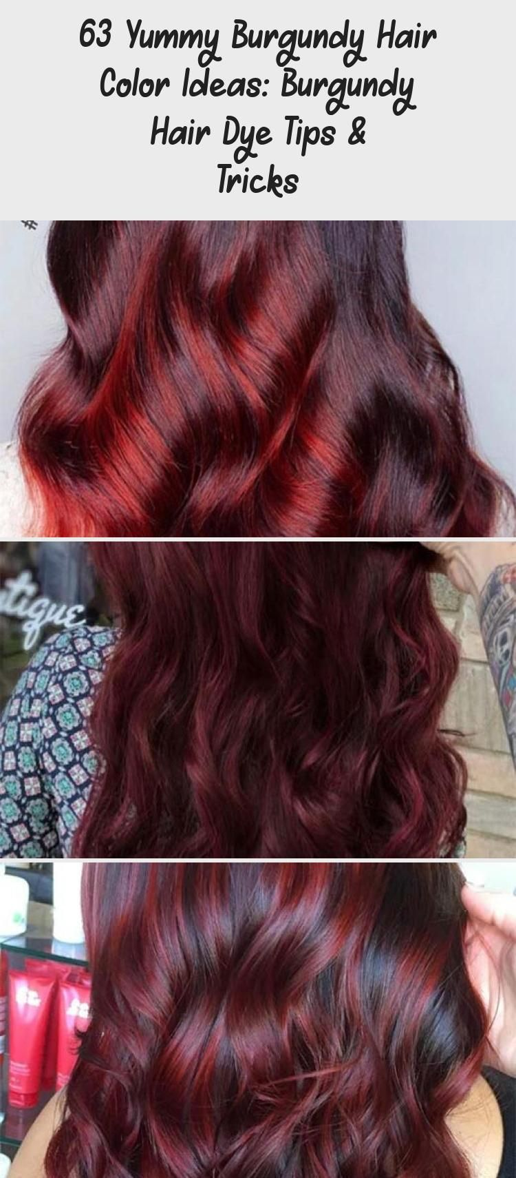 Burgundy Hair Color Shades Wine Maroon Burgundy Hair Dye Tips Burgundyhair Burgundy Hair Haircolor Ha In 2020 Burgundy Hair Hair Color Burgundy Wine Hair Color