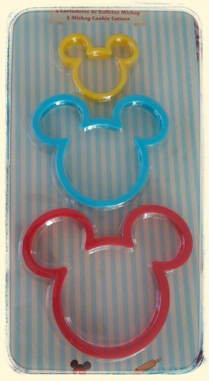 Para hacer lindas galletas #mickeystuff#lovemickey