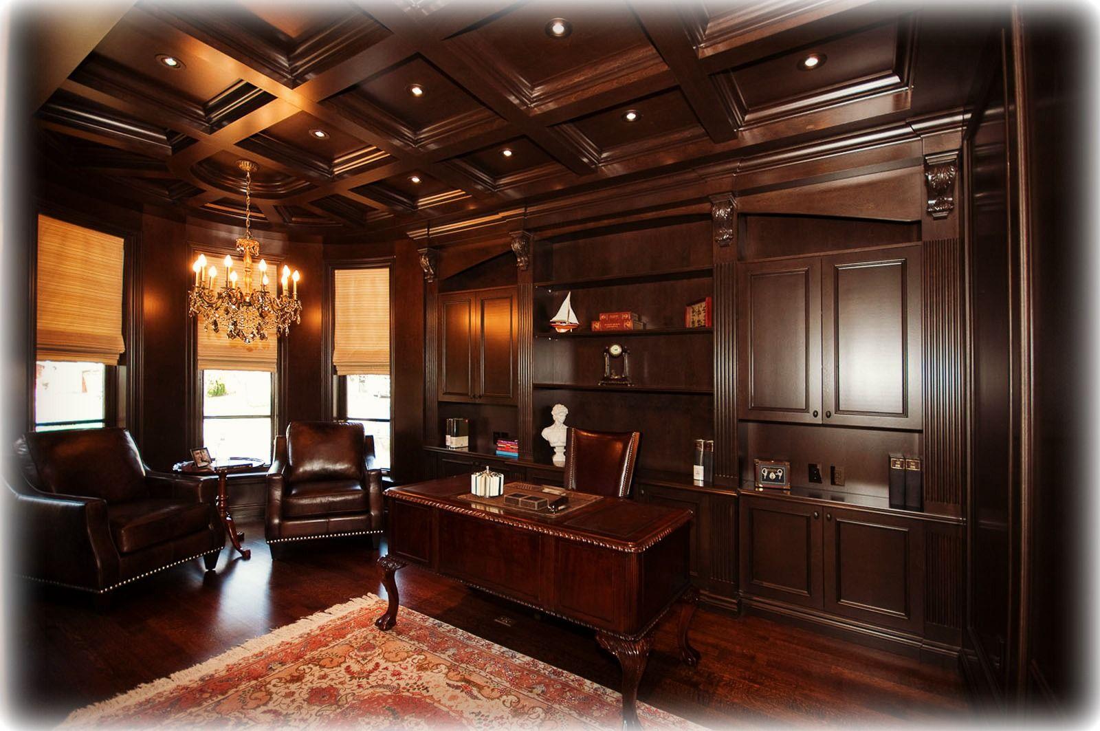 Brown Barrel Office by Robert Design Group Ltd.