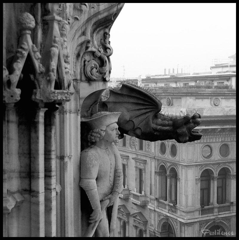 gargoyle Duomo, Milano