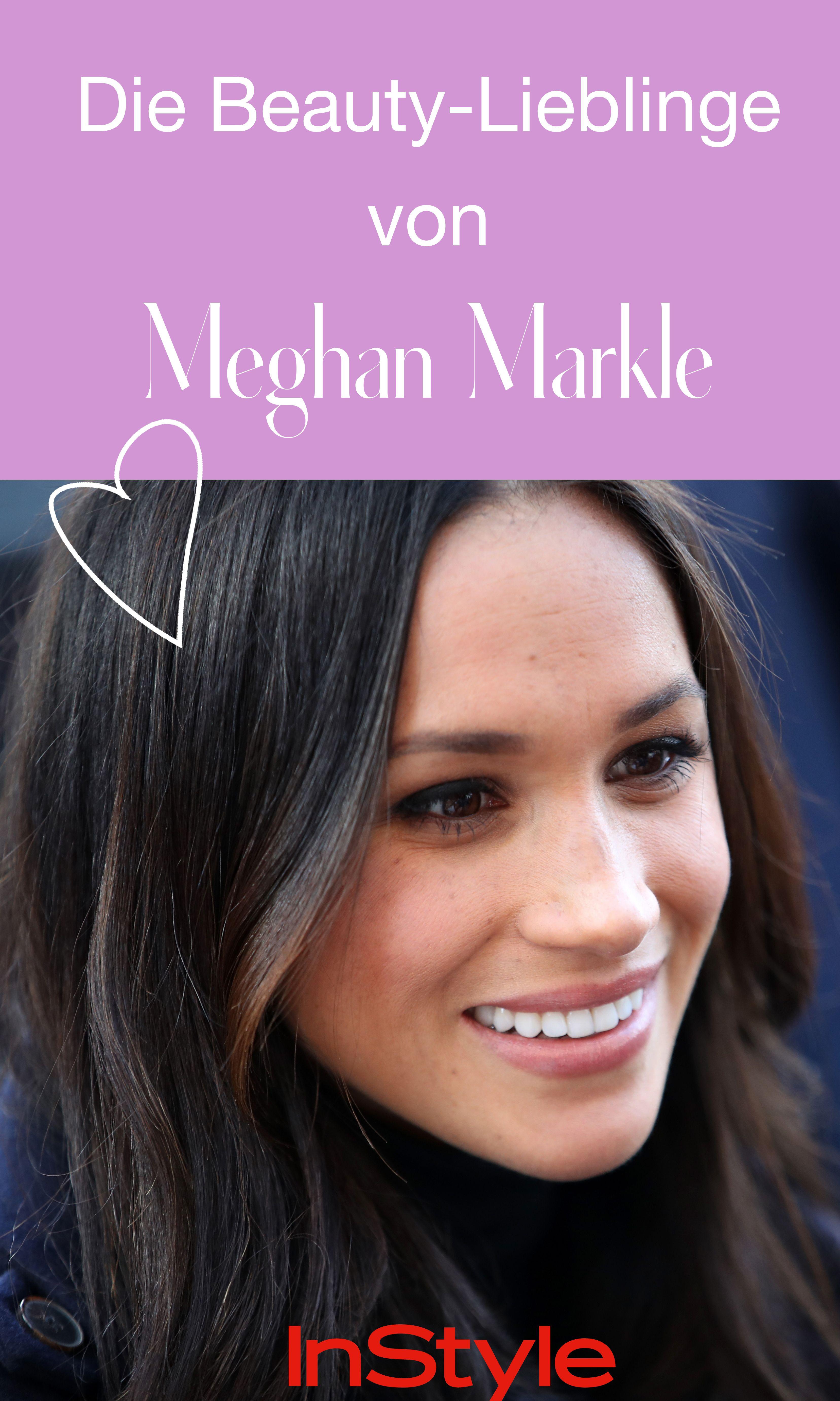 Psst! Wir wissen, welche Beauty-Produkte Meghan Markle