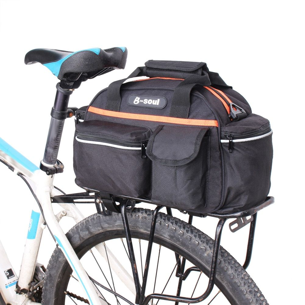 Best Seller 15l Bicycle Bike Bag Rear Seat Rack Trunk Bag For Mtb