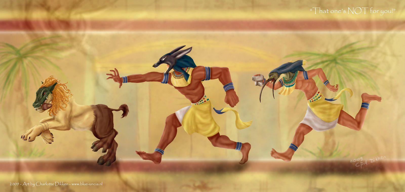 мс, картинка позы бегущий египтянин нем