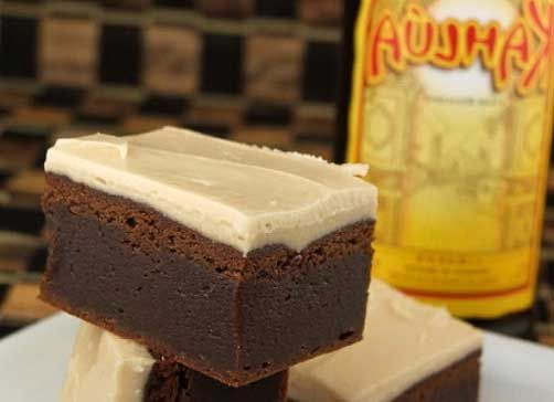 Kahlua Brownies with Brown Butter Kahlua Icing | Recipe | Salts, Cream ...