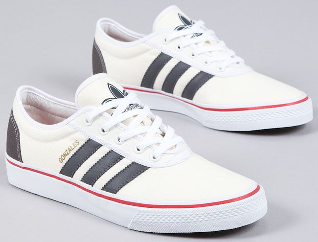 adidas Skateboarding adi Ease Gonz | Grey / Red - EU Kicks: Sneaker Magazine