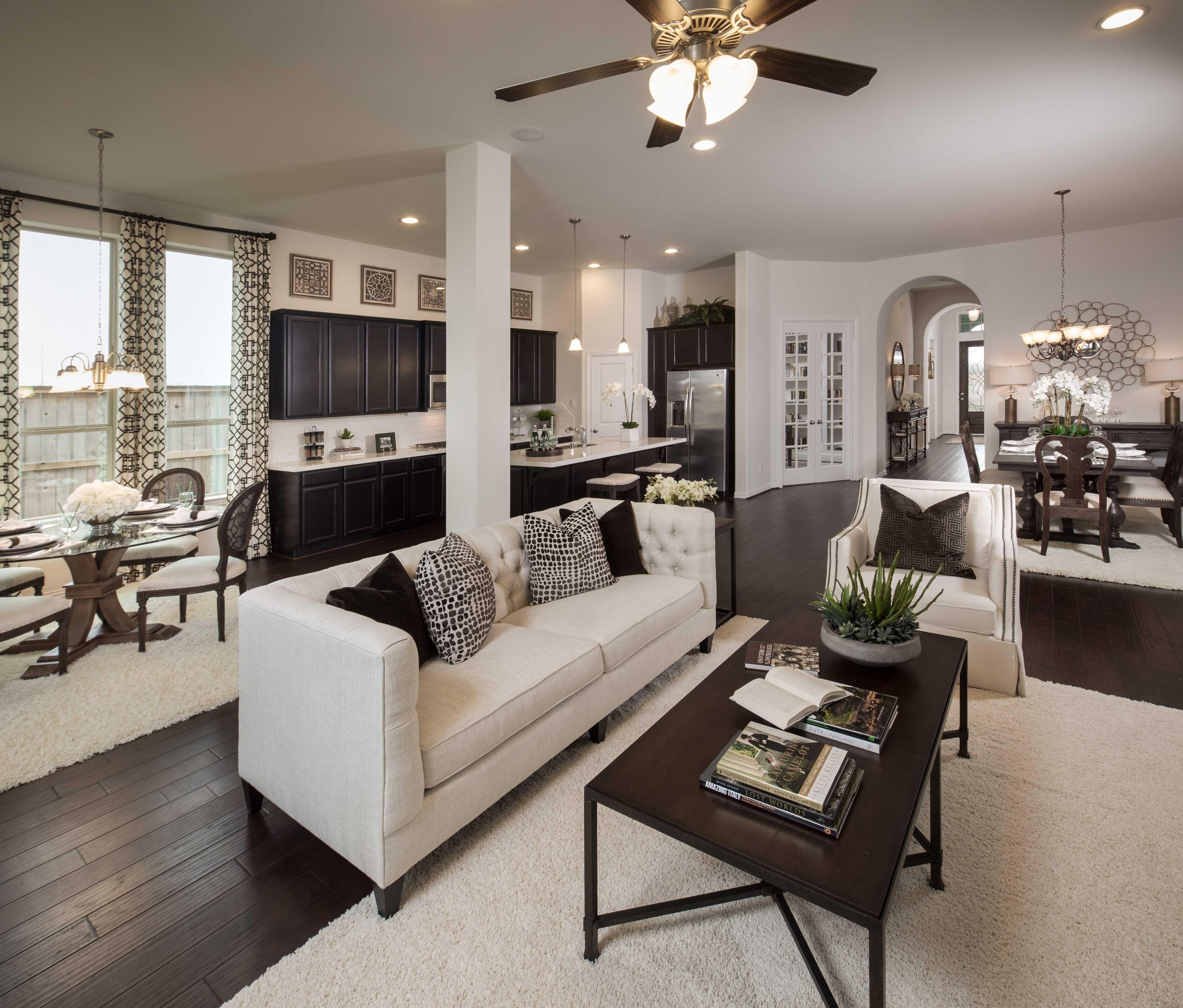 Model Home in Houston Texas Westover Park