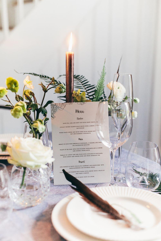 Romantic & Botanical Wedding Decor With Waterford - Rock My Wedding ...
