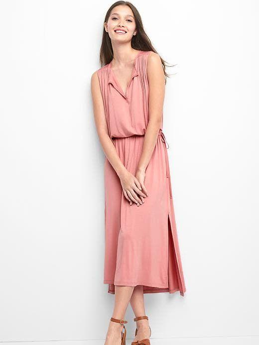 80a7bfc04 Gap Womens Pintuck Step-Hem Dress Potpourri Pink | Products ...