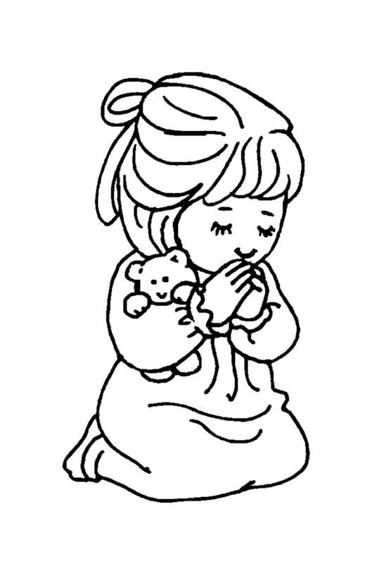Little Girl #19 (Characters) – Printable coloring pages | 800x546