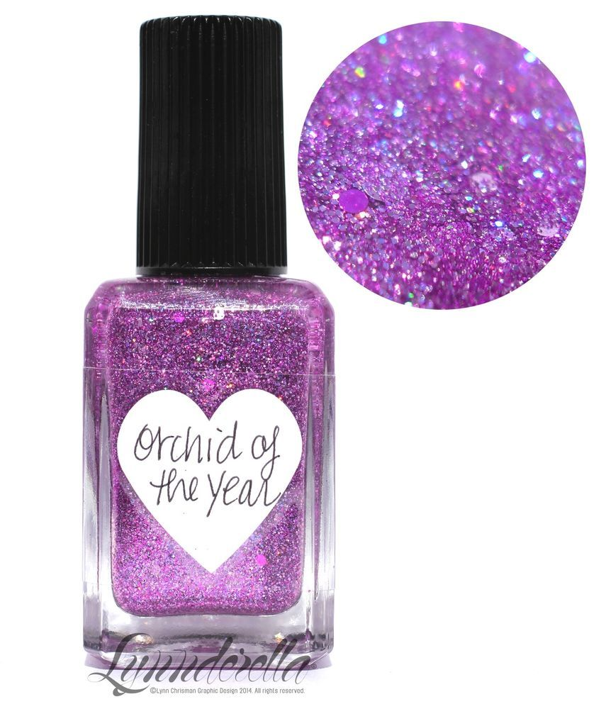 Lynnderella Nail Polish—Light Year, a collection to collect—Orchid ...