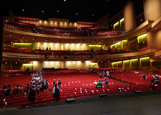 View From Dpac Stage In Durham Nc Triangle Dining Nc Triangle