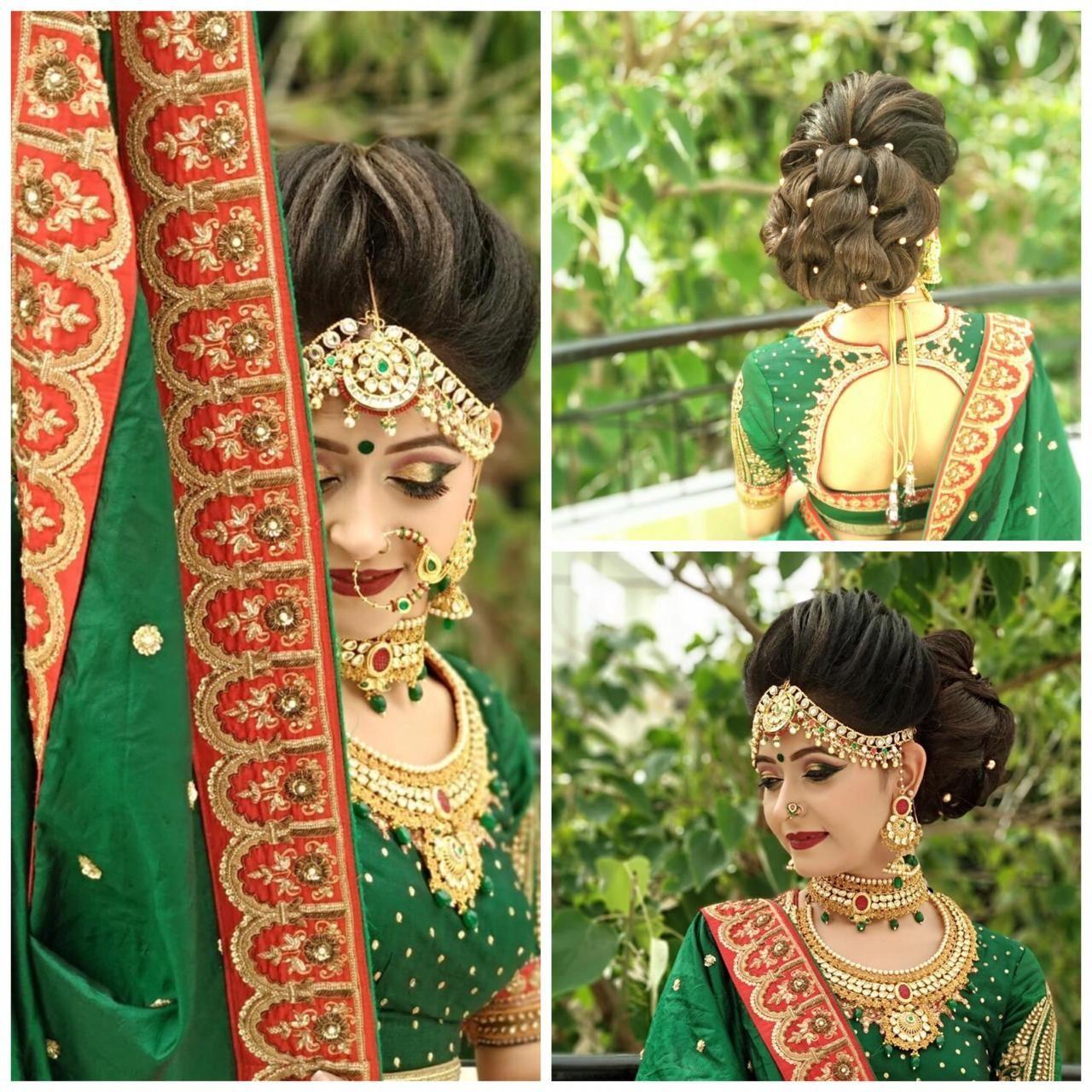 Beauty island patna, best bridal makeup artist, best