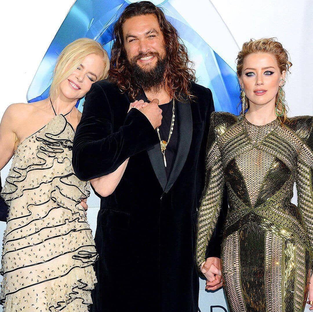 Zoe Kravitz Vs Amber Heard: Jason Momoa, Nicole Kidman And Amber Heard L.A. Aquaman
